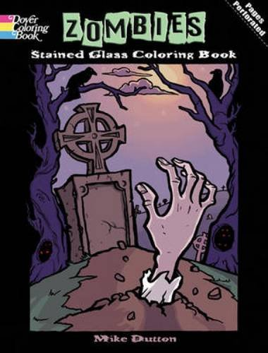9780486479484: Zombies Stained Glass Coloring Book (Dover Stained Glass Coloring Book)