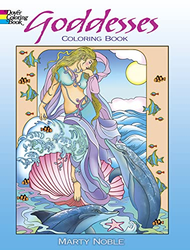 9780486480282: Goddesses Coloring Book (Dover Coloring Books)