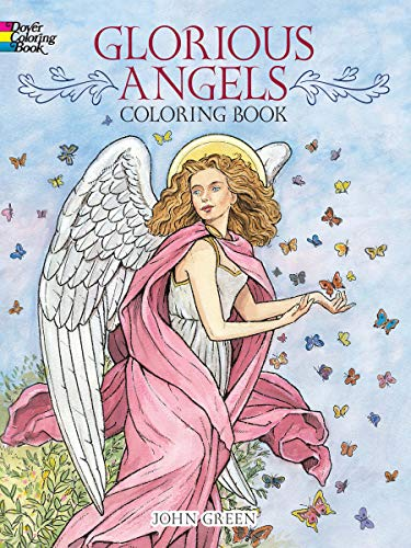 9780486480466: Glorious Angels Coloring Book (Dover Coloring Books)