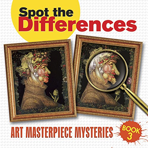 9780486480855: Spot the Differences: Art Masterpiece Mysteries Book 3 (Dover Children's Activity Books)