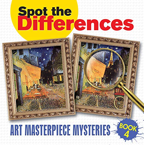 9780486480862: Spot the Differences Book 4: Art Masterpiece Mysteries (Dover Children's Activity Books)