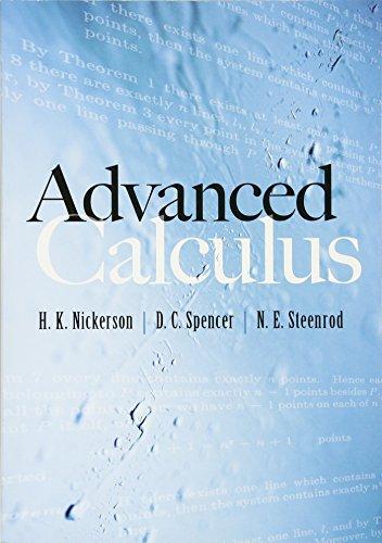 9780486480909: Advanced Calculus (Dover Books on Mathematics)