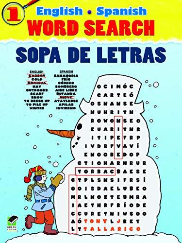 9780486480978: English-Spanish Word Search Sopa de Letras #1 (Dover Children's Language Activity Books)