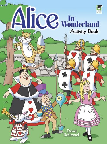 9780486481005: Alice in Wonderland Activity Book