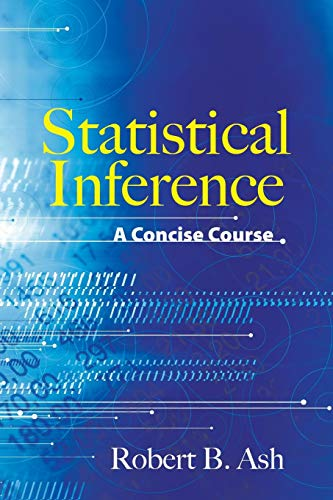 9780486481586: Statistical Inference: A Concise Course (Dover Books on Mathematics)