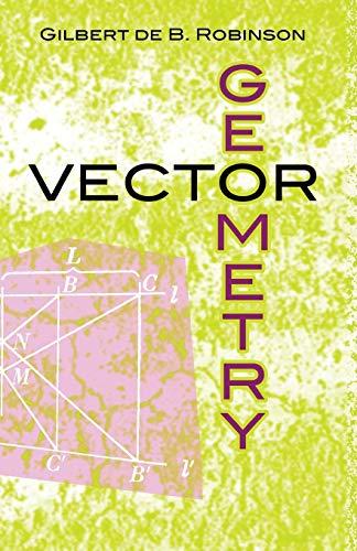 9780486481609: Vector Geometry