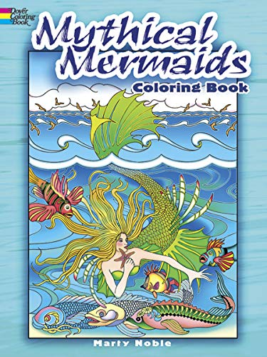 9780486481692: Mythical Mermaids Coloring Book (Dover Coloring Books)
