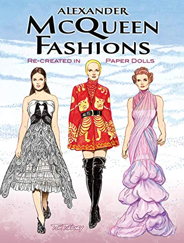 9780486481784: Alexander Mcqueen Fashions: Re-Created in Paper Dolls, Green Edition