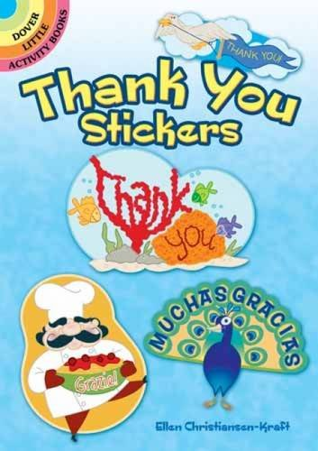 9780486481920: Thank You Stickers (Dover Little Activity Books Stickers)
