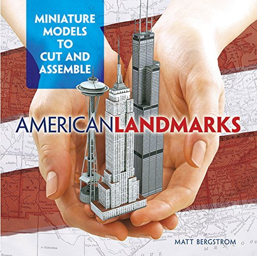 9780486482811: American Landmarks: Miniature Models to Cut and Assemble