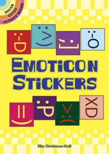 9780486483108: Emoticon Stickers