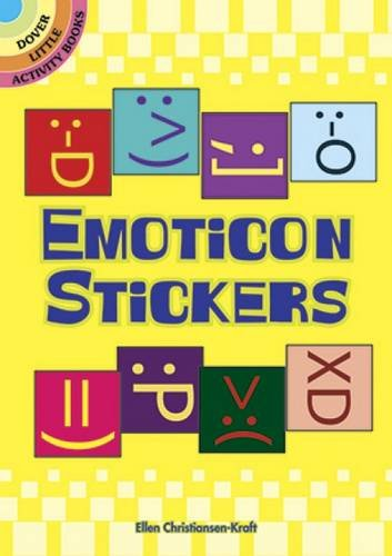 9780486483108: Emoticon Stickers (Dover Little Activity Books Stickers)
