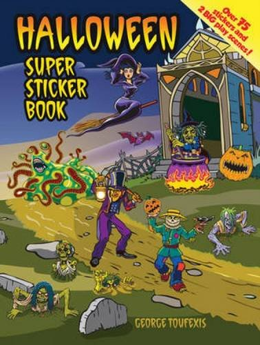 9780486483801: Halloween Super Sticker Book
