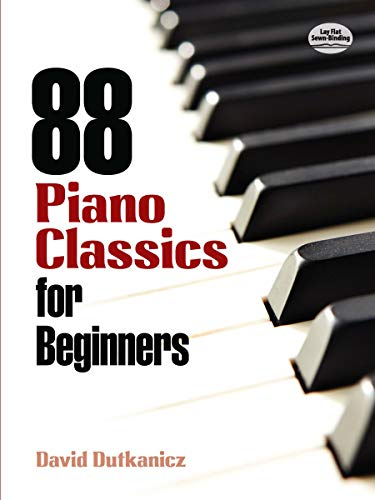 9780486483887: 88 Piano Classics For Beginners