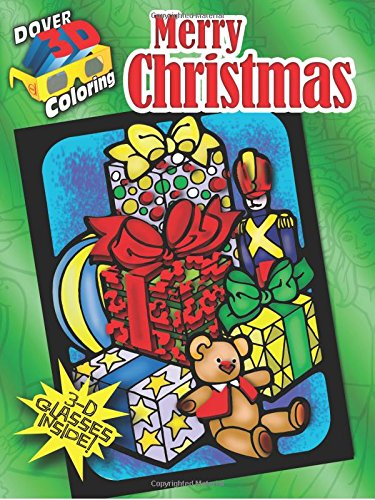 9780486484143: Merry Christmas (Dover 3-D Coloring Book)