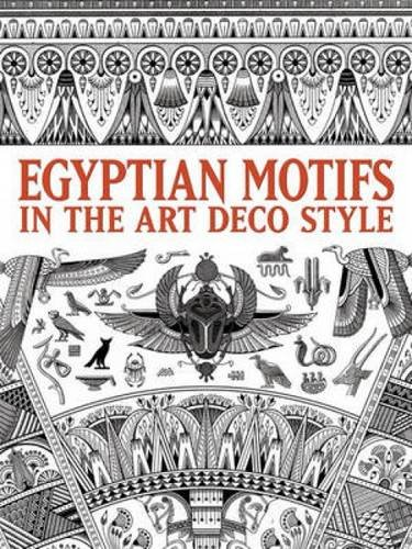 9780486484464: Egyptian Motifs in the Art Deco Style