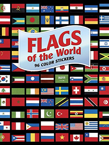 9780486485263: Flags of the World: 96 Color Stickers (Dover Stickers)