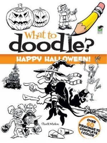 9780486485317: Happy Halloween! (Dover Doodle Books)