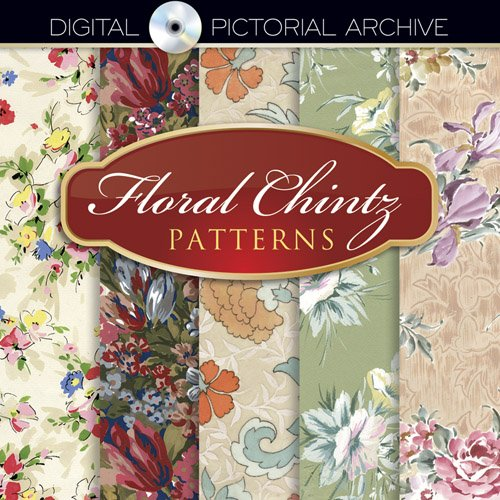 9780486485362: Floral Chintz Patterns: Includes CD-ROM (Dover Pictorial Archive)