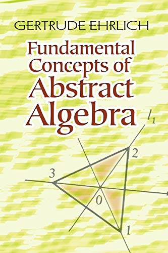 9780486485898: Fundamental Concepts of Abstract Algebra (Dover Books on Mathematics)
