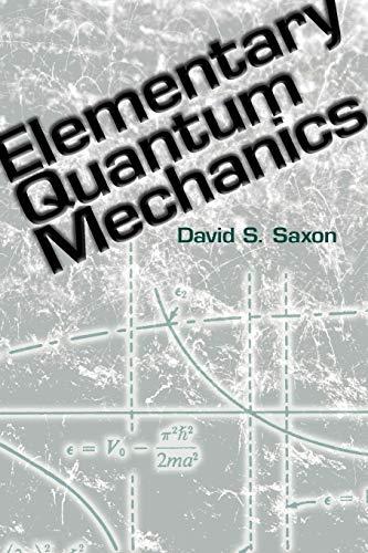 9780486485966: Elementary Quantum Mechanics (Dover Books on Physics)