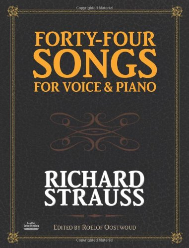 9780486485973: Forty-Four Songs for Voice and Piano (Dover Song Collections)