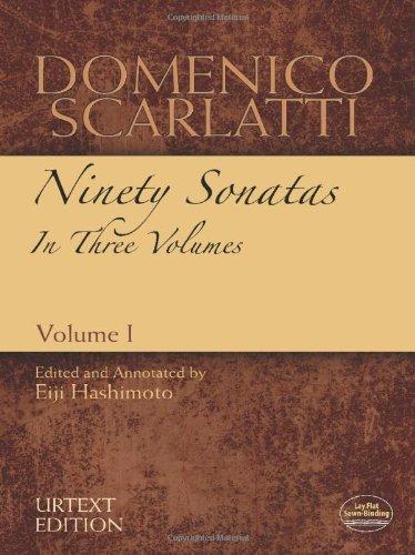 9780486486086: Domenico Scarlatti: Ninety Sonatas in Three Volumes, Volume I (Dover Music for Piano)