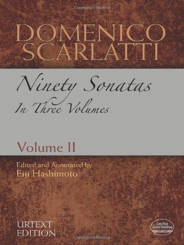 9780486486161: Domenico Scarlatti: Ninety Sonatas in Three Volumes, Urtext Edition: 2