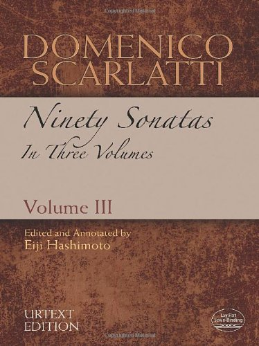 9780486486178: Domenico Scarlatti: Ninety Sonatas in Three Volumes, Urtext Edition: 3