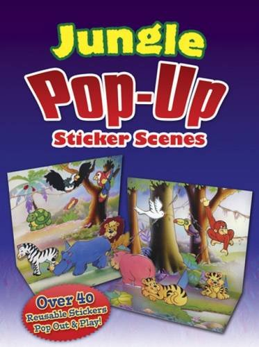 9780486486871: Jungle Pop-Up Sticker Scenes (Dover Sticker Books)