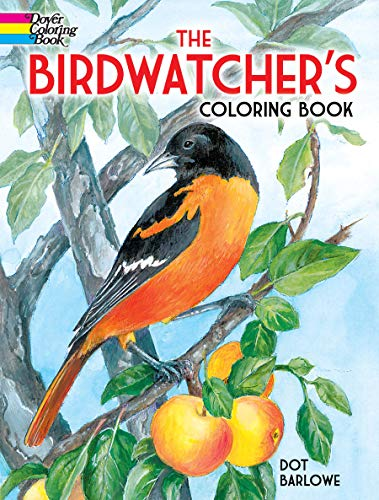 9780486487946: The Birdwatcher's Coloring Book (Dover Nature Coloring Book)