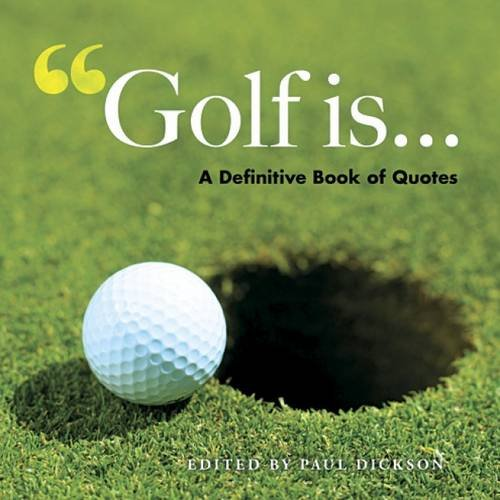 9780486487960: Golf Is . . .: Defining the Great Game