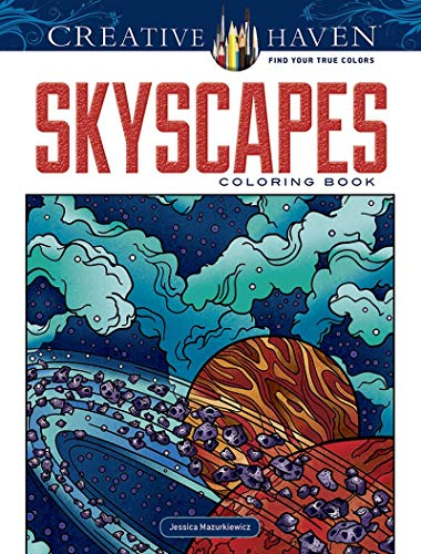 Creative Haven SkyScapes Coloring Book (Adult Coloring): Mazurkiewicz, Jessica, Coloring