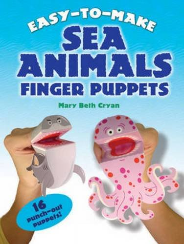 9780486488455: Easy to Make Sea Animals Finger Puppets (Dover Children's Activity Books)