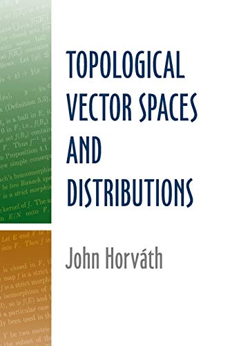 9780486488509: Topological Vector Spaces and Distributions (Dover Books on Mathematics)
