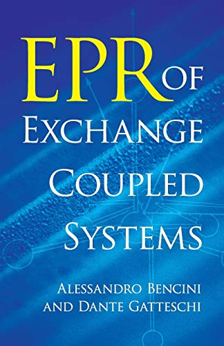 9780486488547: EPR of Exchange Coupled Systems (Dover Books on Chemistry)