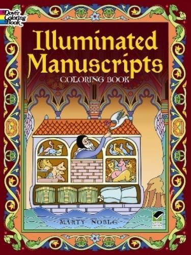 9780486488752: Illuminated Manuscripts Coloring Book (Dover Art Coloring Book)