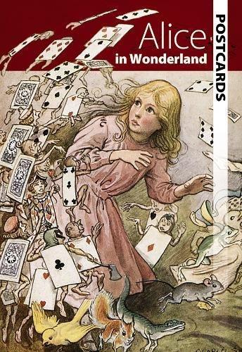 9780486488844: Alice in Wonderland Postcards (Dover Postcards)