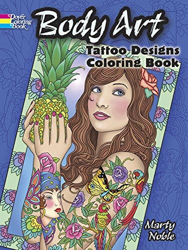 9780486489469: Body Art (Dover Design Coloring Books)