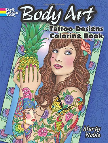 9780486489469: Body Art: Tattoo Designs Coloring Book (Dover Design Coloring Books)
