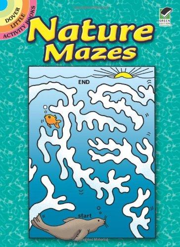 9780486489520: Nature Mazes (Dover Little Activity Books)