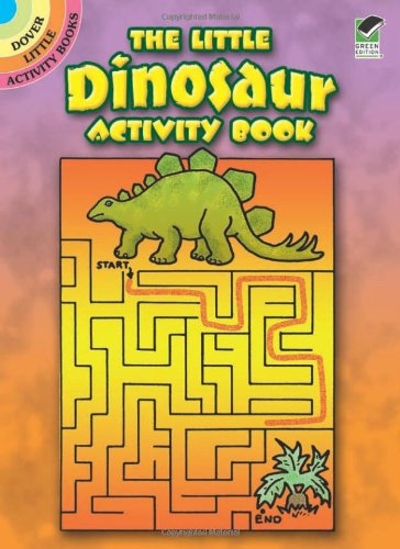 9780486489544: Little Dinosaur Activity Book (Dover Little Activity Books)