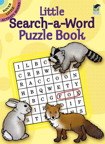 9780486489568: Little Search-A-Word Puzzle Book (Dover Little Activity Books)