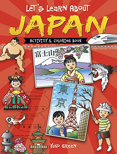 9780486489933: Let's Learn About JAPAN: Activity and Coloring Book (Dover Children's Activity Books)