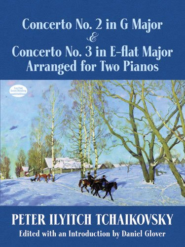9780486490212: Concerto No. 2 in G Major & Concerto No. 3 in E-Flat Major Arranged for Two Pianos (Dover Classical Music for Keyboard and Piano Four Hands)