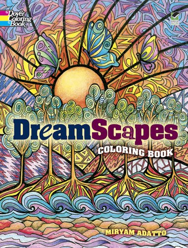 9780486490533: DreamScapes Coloring Book (Dover Coloring Books)