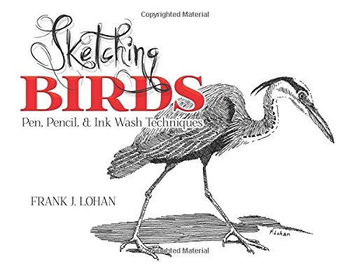 Sketching Birds: Pen, Pencil, and Ink Wash Techniques (Dover Art Instruction)