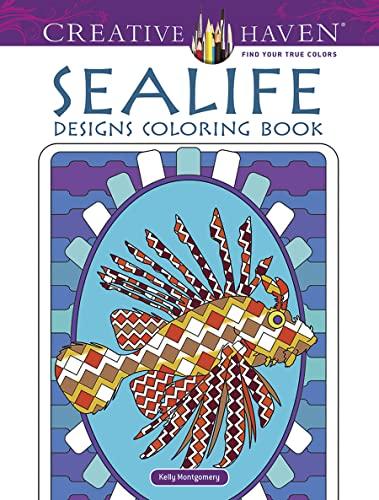 9780486490885: Creative Haven Sealife Designs Coloring Book (Creative Haven Coloring Books)