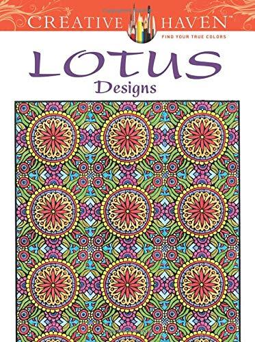 9780486490892: Creative Haven Lotus Designs Coloring Book (Creative Haven Coloring Books)
