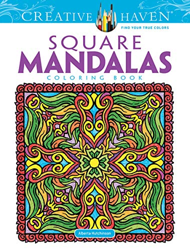 9780486490946: Square Mandalas (Creative Haven Coloring Books)